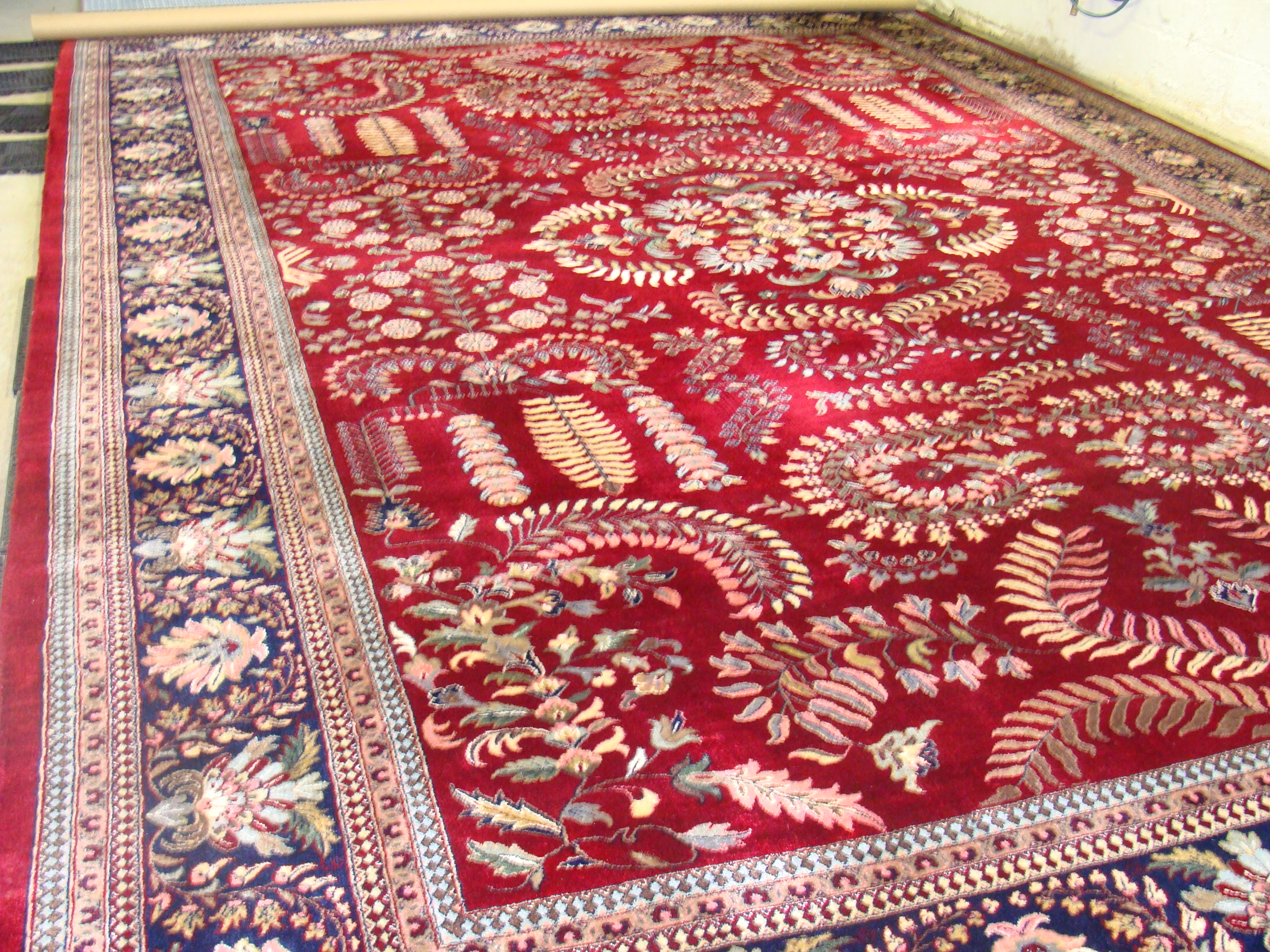 Why Area Rugs are not Cleaned in the Home.