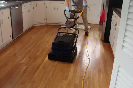 MAINTENANCE OF FINISHED WOOD FLOORS